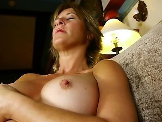 Matures Brief Haired First-timer Blonde Mummy Skyler C. Masturbates