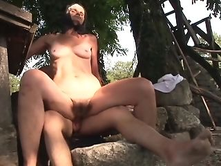 Old Matures Kata Longing For Hard And Youthfull Friend's Penis Outside