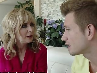Fabulous Sex Industry Star Nina Hartley In Horny Cougar, Matures Lovemaking Scene