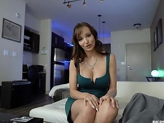 Curvy Butt Cougar Arches For The Dick And Attempts It In Numerous Positions