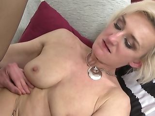 Matures Skinny Blonde Marnie Poon Fingerblasted And Fucked Rear End Style