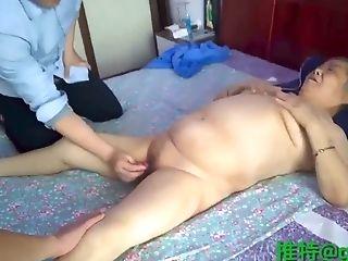 Asian Granny Threesome