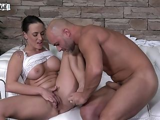 Mea Melone Gets A Rough Slit Fuck On The Casting Couch In High Stilettos