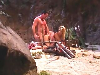 Amazing Adult Movie Star Teri Starr In Exotic Blonde, Outdoor Adult Movie