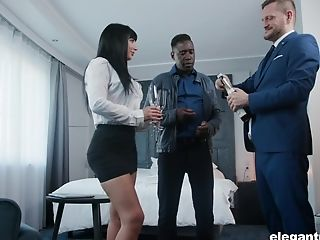 Belgium Hot Wifey Valentina Ricci Is Fucked By Hubby And His Black Companion