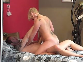 Brief Haired Mellisa Knows Exactly How To Sate A Deviant Friend