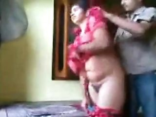 Indian Duo Luving In A Motel Room
