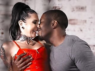 Joanna Angel Fucked In Her Cunt And Donk By A Horny Black Stud