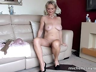 Beautiful Michelle Likes To Yell While She Touches Her Moist Cunt