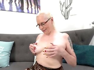Old Female Invites Nubile Boy For Hot Rectal Experiments
