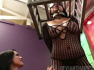 Perverted Whore Eva Angelina Cannot Live A Day Sans A Decent Getting Off