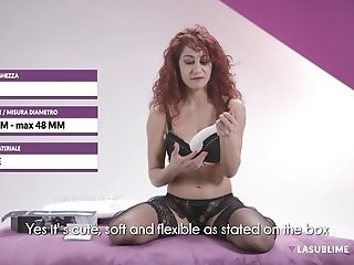 Exotic Ginger-haired Dana Santo Gets Another Fresh Equipment To Attempt Out For Pleasure