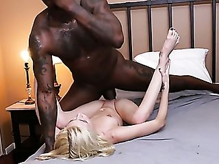Big Black Cock Fucks Ultra-kinky Petite Blonde Piper Perri And Makes Her Cunt Wrecked