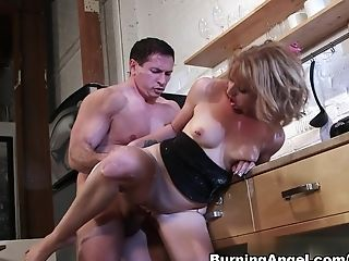 Amazing Pornographic Star John Strong In Incredible Red-haired, Big Caboose Intercourse Movie