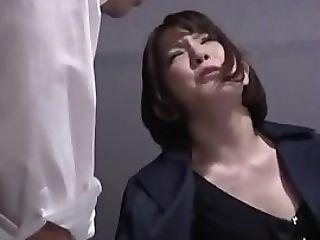 Divine Eastern Darling Ryo Tsujimoto Cums From Shaft Slurping