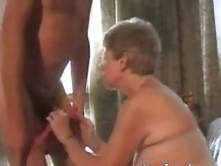 Granny Penetrated By Old Hard Hard-on