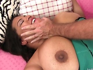 Horny Old Man Pummels Fat Latina Lady Spices Premium Chubby Vagina