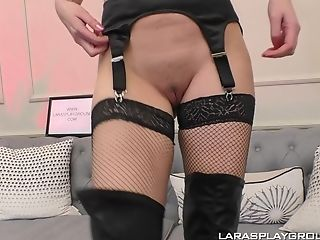 Solo Matures Mummy In Leather Boots Lara Poses And Masturbates Solo
