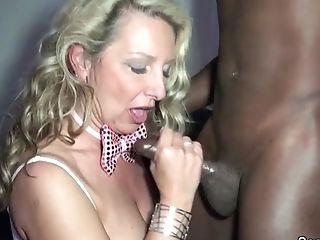 German Step-mom Fuck Black Boy On Privat Soiree